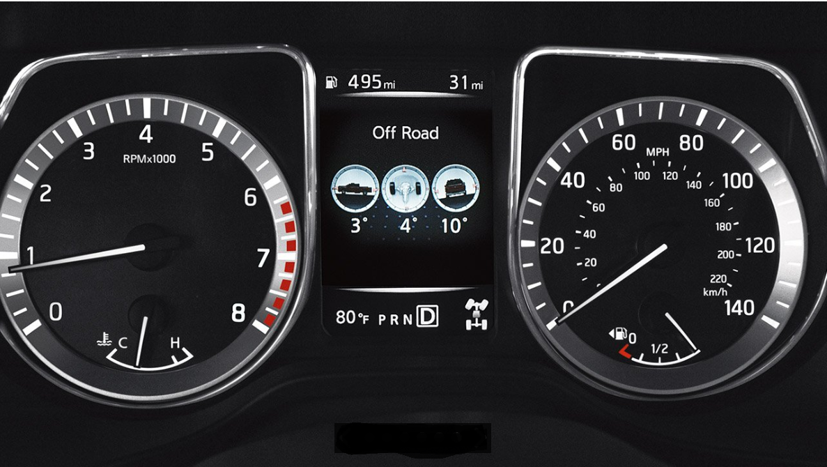 Active Driver Assist Display