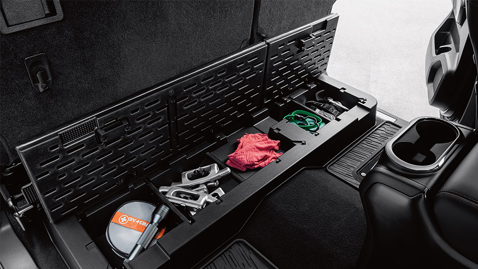 Lockable Rear Cargo Seat Organizer