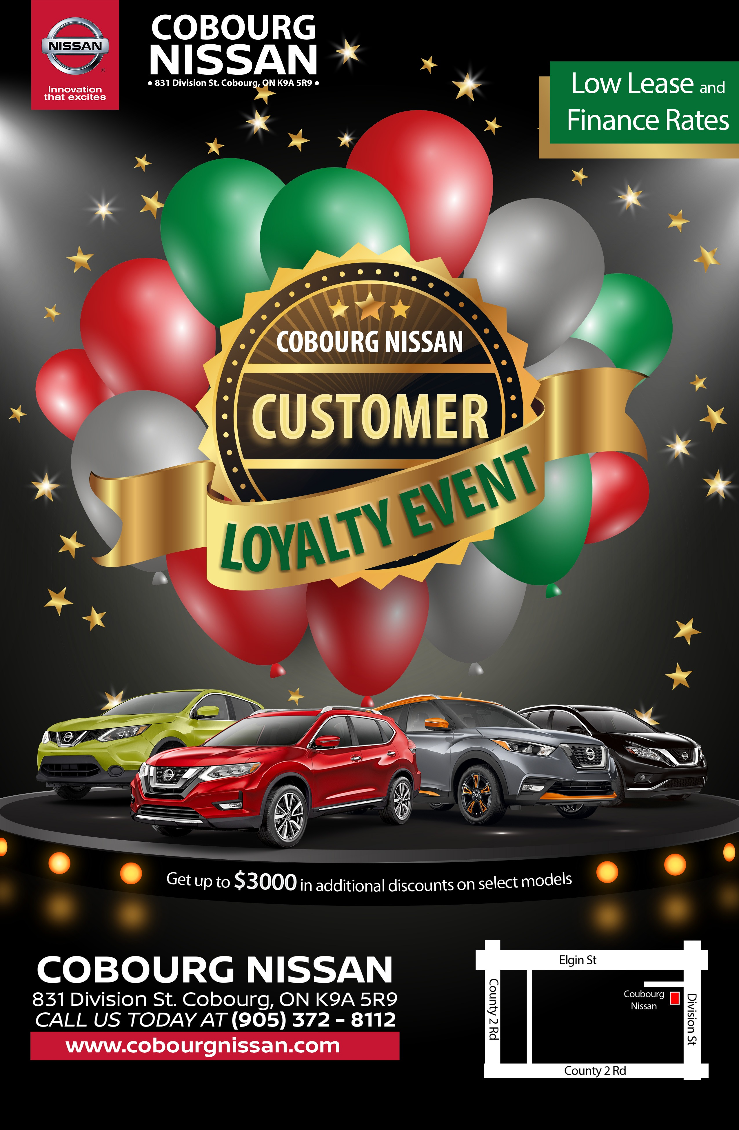 Up to $3000 in additional discounts on select models, Low Lease and finance offers